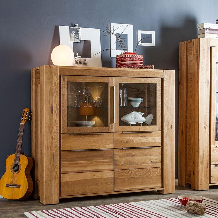 die besten 25 highboard eiche ideen auf pinterest highboard tv highboard und highboard wei. Black Bedroom Furniture Sets. Home Design Ideas