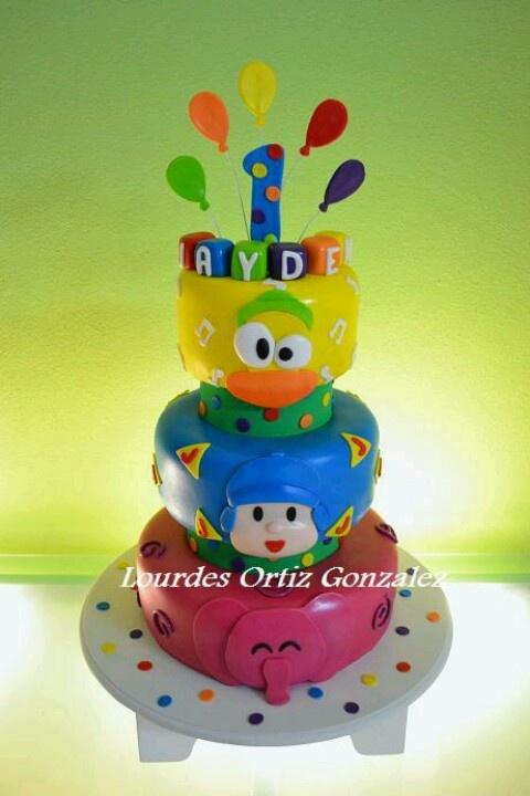 Pocoyo #birthdayCake #cake #torta #pocoyo