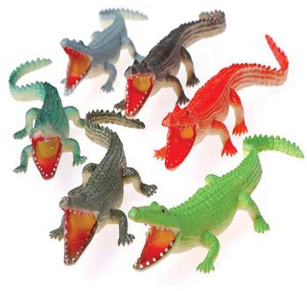 "wholesale Toy Crocodiles - 6"" (Case of 132)"