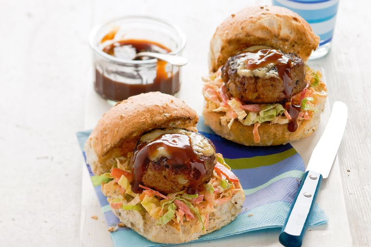 Create healthy dinner choices for the kids with these fun and tasty turkey burgers.