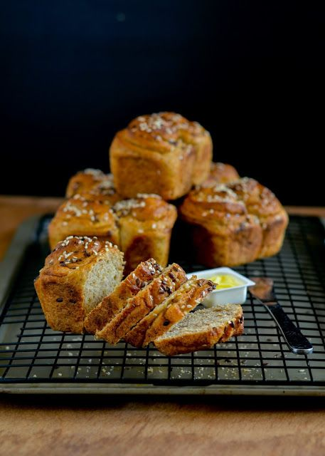 Fighting the good fight/-/ Whole wheat cinnamon swirl mini loaves. | The moonblush Baker