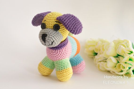 Crochet Puppy toy / Baby toy Puppy /  Baby by ILoveAmigurumi