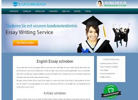 Essayschreiben24 is a brand new writing custom essays and dissertations service for students in Germany. Papers are totally authentic, plagiarism free, comprehensive, well studied and brilliantly written.