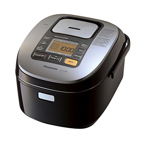 Panasonic Rice Cooker |SRHZ106K| 5.5-cup, multi-function with Induction Heating