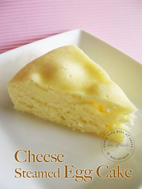 Cheese Steamed Egg Cake
