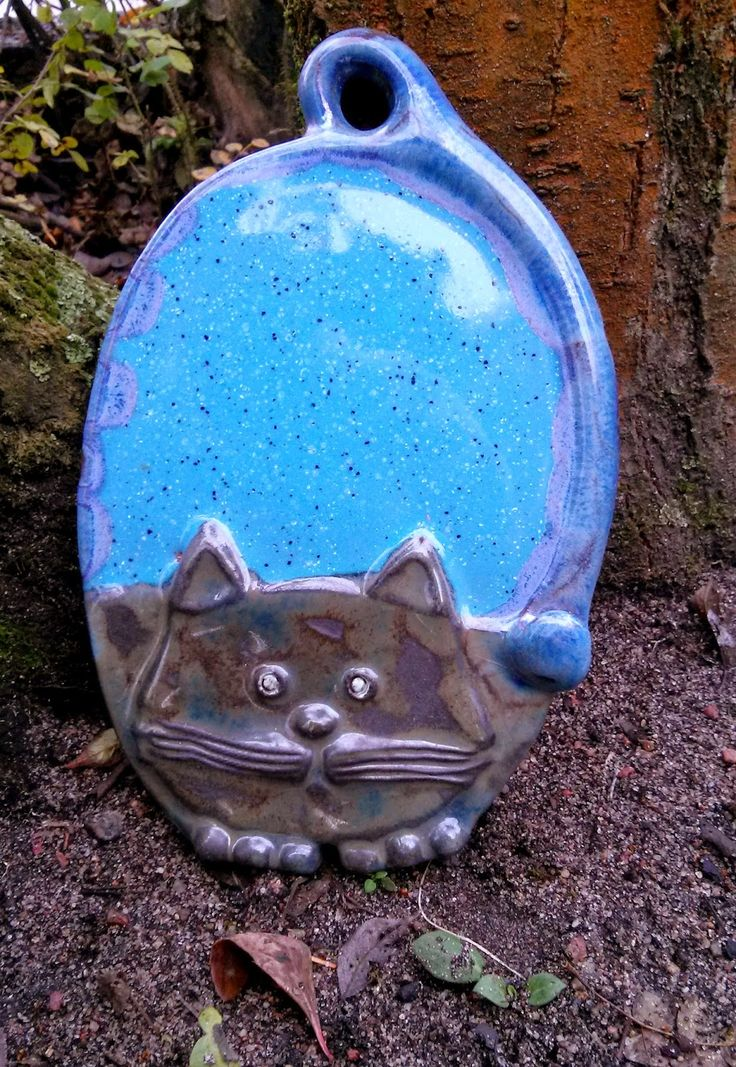 Ceramika z Kota: Kocie tace