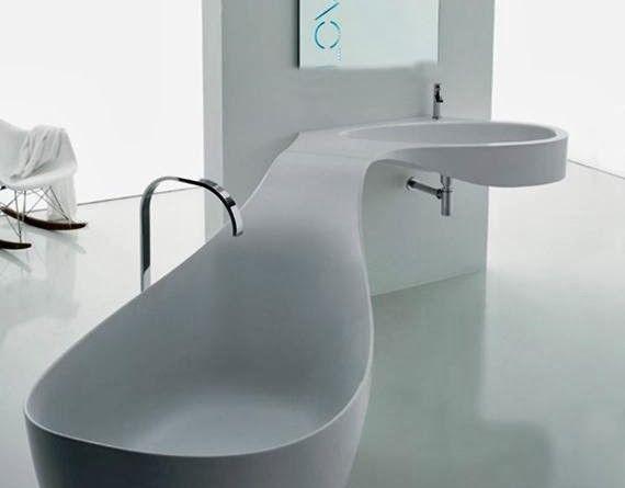 Corner bathroom vanity with sink Photo - 5