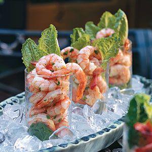 Healthy Appetizer Recipes | Shrimp Shooters | SouthernLiving.com