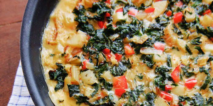 Swap out chard for your favorite green in this easily-customizable recipe. Total Time:35 min. Prep Time:10 min. Cooking Time:20-25 min. Yield:8 serving
