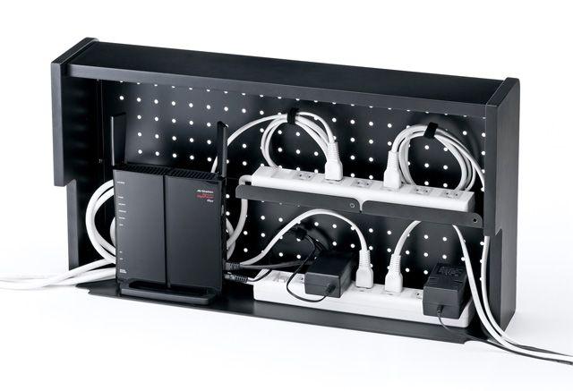 コレは導入したい! こちら、サンワサプライより発売されるケーブル収納ボックス「CB-BOXS6シリ...