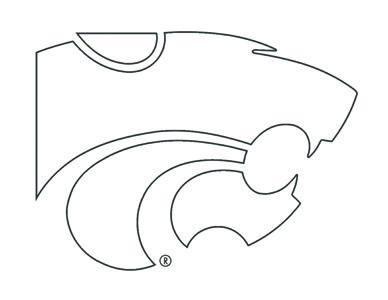 Kansas State University Coloring Pages