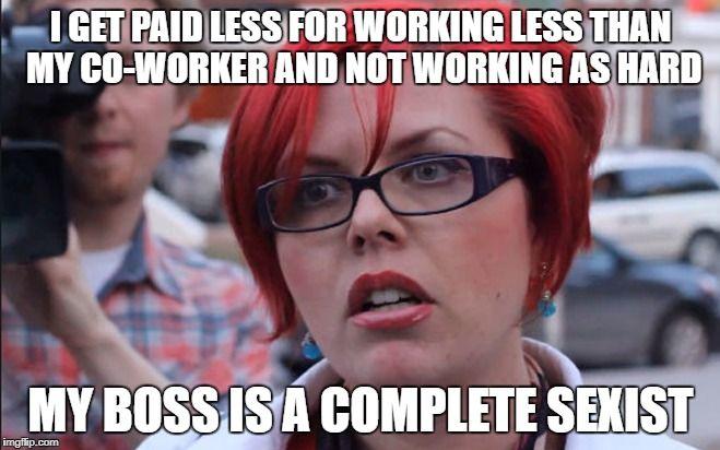 Image Result For Triggered Feminist Memes Liberal Memes Anti