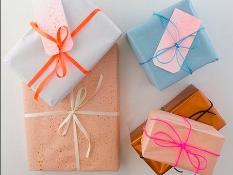 DIY - Gift wrapping by Sostrene Grene