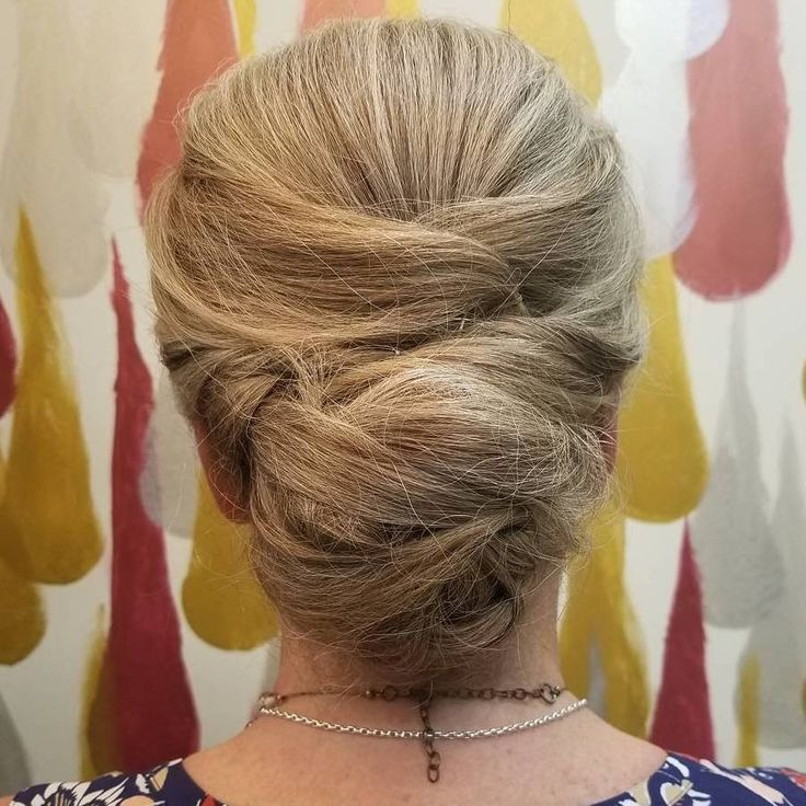 40 Stylish Long Hairstyles For Older Women Chignon Updo Chignons And Updo