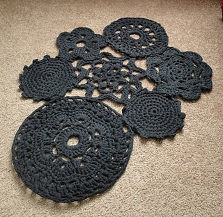 Crochet Tarn Bath Rug