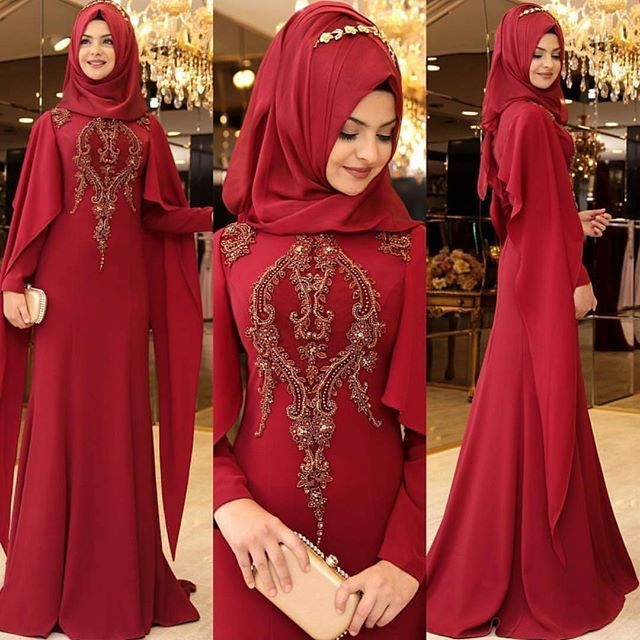 Untitled Pakistani Fashion Party Wear Evening Dresses Hijab Evening Dress