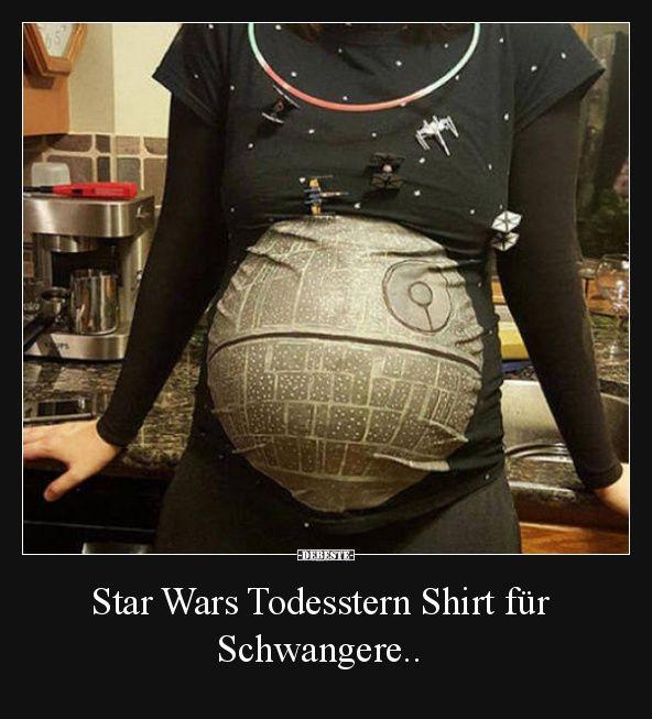 Star Wars Todesstern Shirt für Schwangere.. | Lustige Bilder, Sprüche, Witze, echt lustig