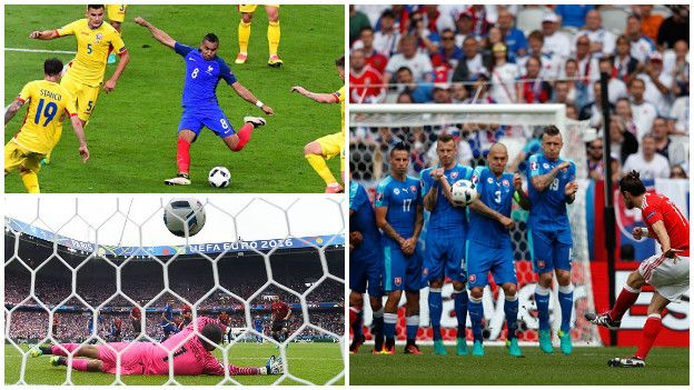 Eurocopa Francia 2016: los tres golazos que dejó la primera fecha.