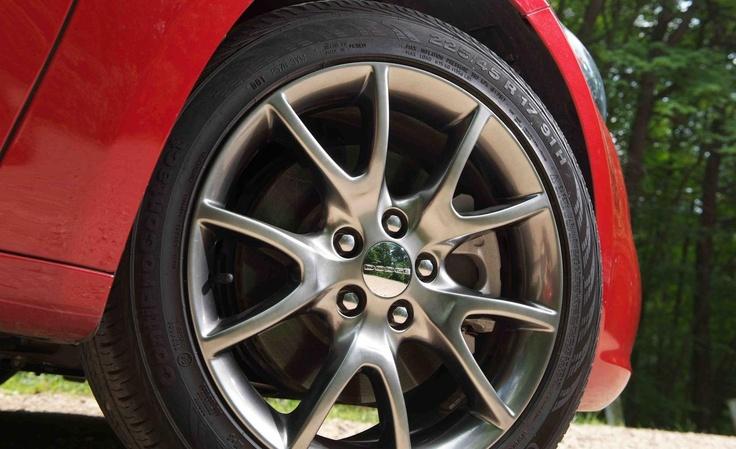 2013 Dodge Dart Rallye wheel...
