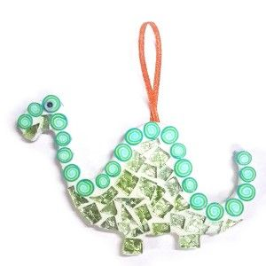 Mosaic Project- Dinosaur. Available in green and blue. R49.00