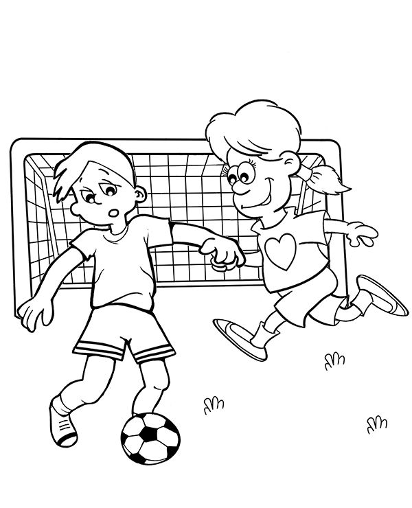 football soccer coloring pages for children neymar match players