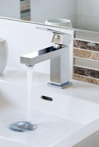 modern quattro basin mixer minimalistic design tapware available on #Spec Net Online #Shop