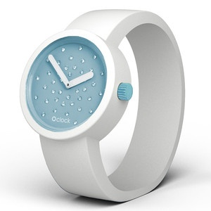 Crystal Watch Peppermint White, 48€, now featured on Fab.