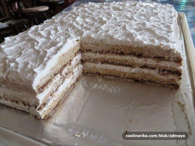 Torta koja je vrlo ukusna, laka za pripremu, brzo se pravi, jeftina je, a puuuuuno ispadne.  Sastojci :  2 pakovanja turskog keksa (Petit...
