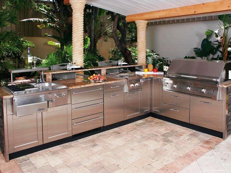 Möglichkeiten, vorgefertigte Outdoor-Küchen-Kits zu wählen   – HOME&GARDEN