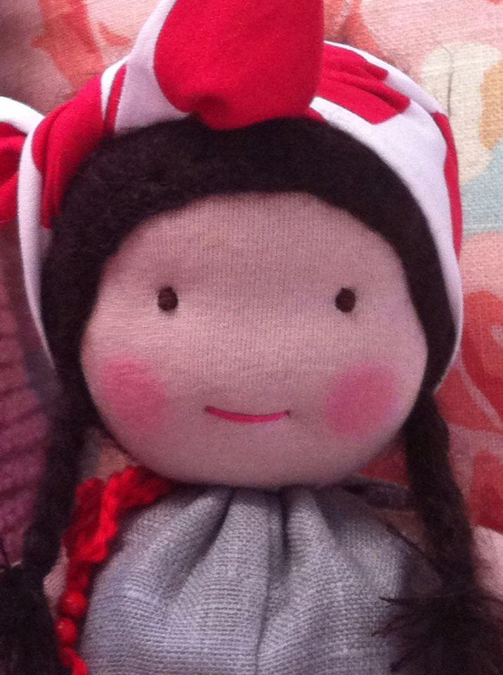 meine erste Puppe... mit Liebe handgemacht