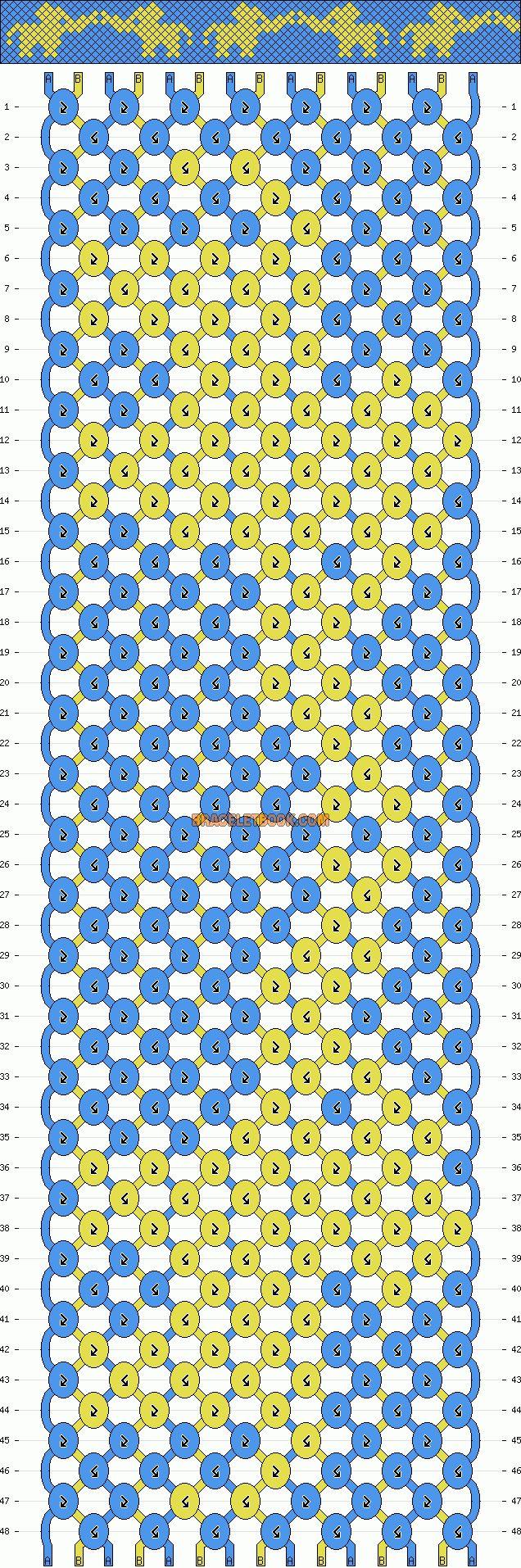 images about crafts i love normal friendship bracelet pattern 11499 braceletbook com