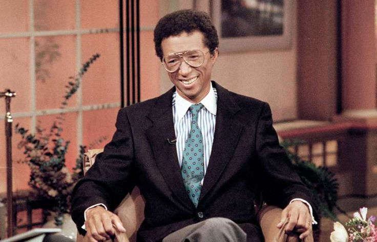 April 8,  1992: TENNIS GREAT ARTHUR ASHE REVEALS HIS AIDS CONDITION  -    Tennis great Arthur Ashe announces at a New York news conference that he has AIDS, having contracted the virus during a 1983 heart operation (Ashe died in Feb. 1993 of AIDS-related pneumonia at age 49).