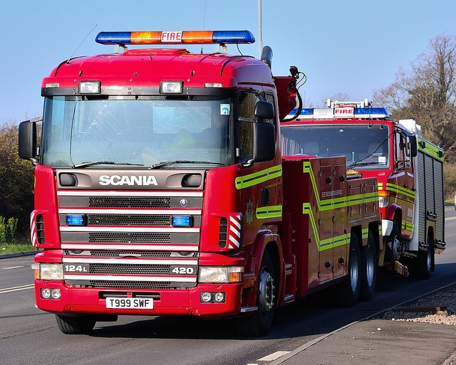 South Wales Fire & Rescue Service Scania 420 Wrecker