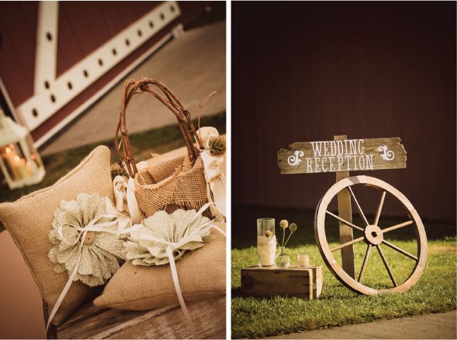 Rustic-Chic Barn Wedding - Belle The Magazine