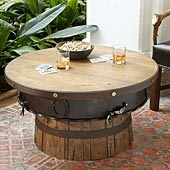 whiskey table