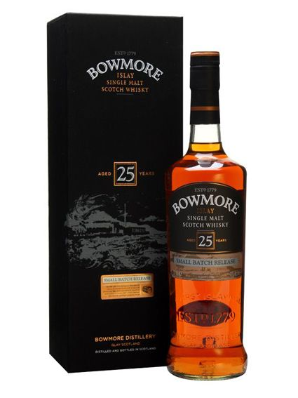 Bowmore, 25 ans. Chez tous les bons cavistes. http://www.bowmore.com/