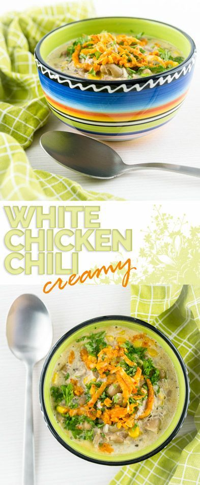 I've long been intrigued by the ideas of a creamy white chicken chili, so I went ahead and worked on my own version of this unusual spicy treat! #chili #chilirecipe #spicy #chicken #chickenrecipes #cream #beans #recipe #recipeoftheday