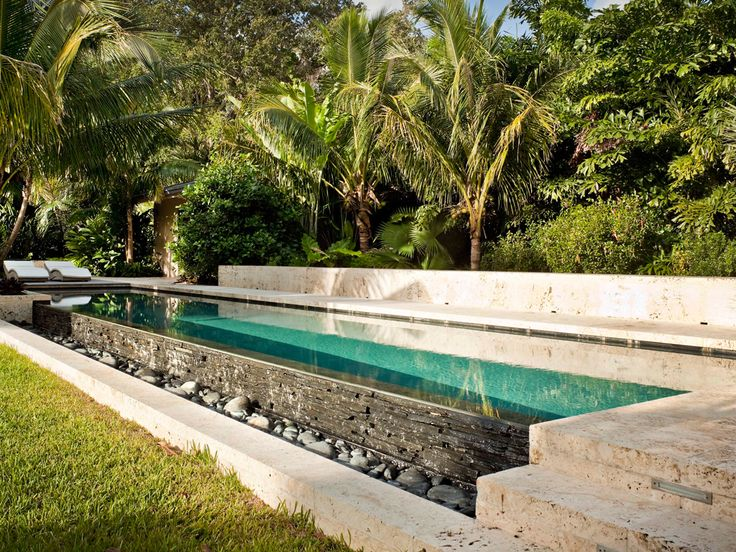 25 best ideas about tropical backyard on pinterest for Pool design miami