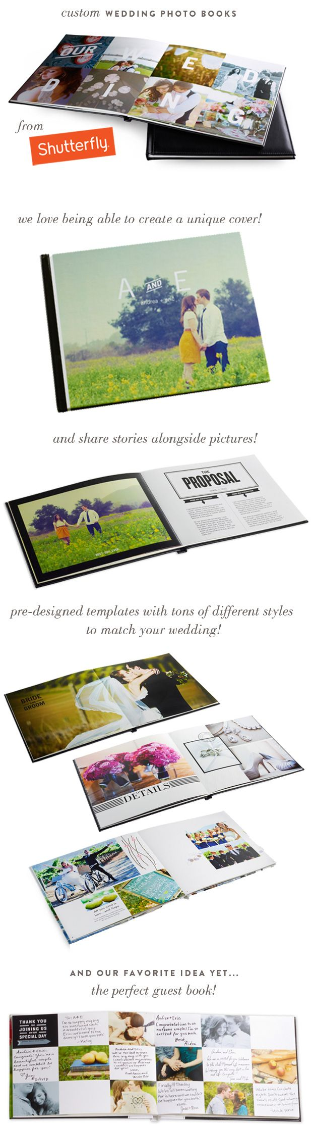 Guest book idea...Wedding Blog – Wedding Colors & Inspiration | Grey Likes Weddings