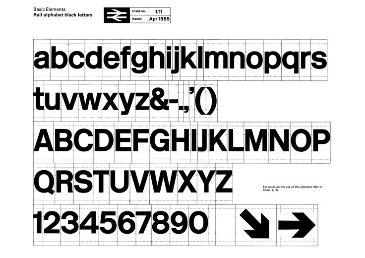 rail alphabet: Graphic Designers, Rail Alphabet, Alphabet Black, British Railway, Typography, Type