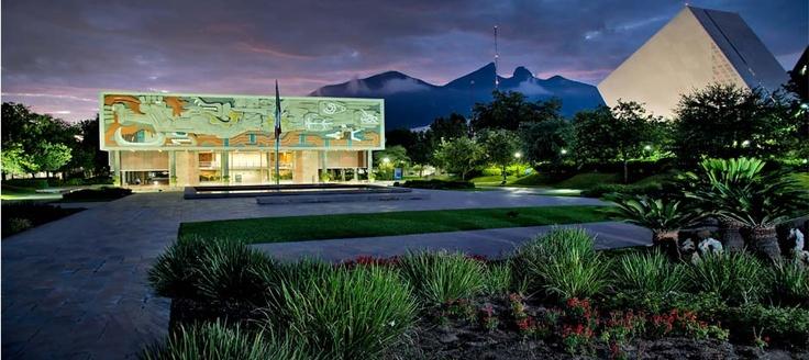 Anochecer desde el Campus Monterrey