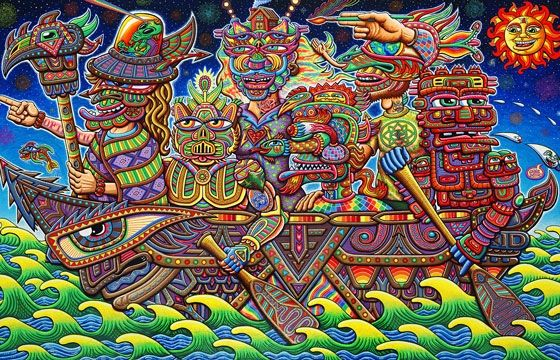 Psychedelic Spirit Paintings Alex Grey Art Gallery: 38 Best Images About Art By Chris Dyer On Pinterest