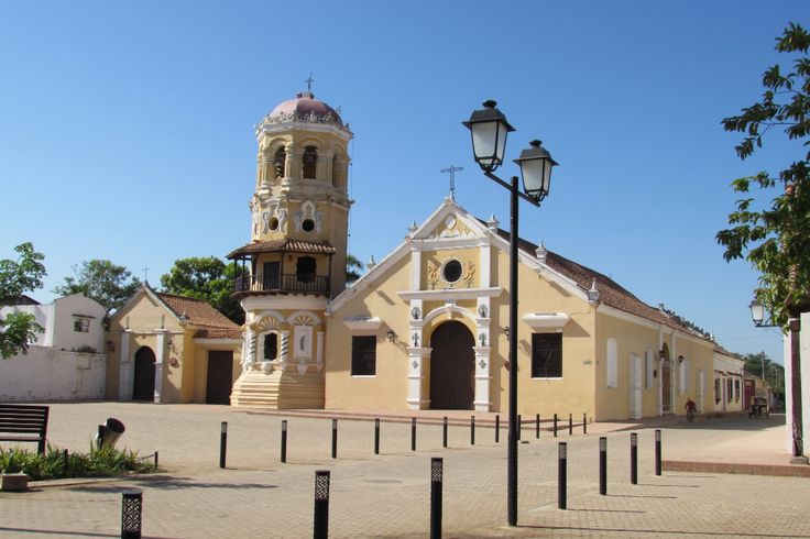 Iglesia de Santa Bárbara Santa Cruz de Mompox, Bolívar. Colombia