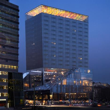 31 best images about hotel facade on pinterest beijing for Architecture jean nouvel