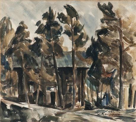 VAINO KAMPPURI A Cottage In The Woods 1921