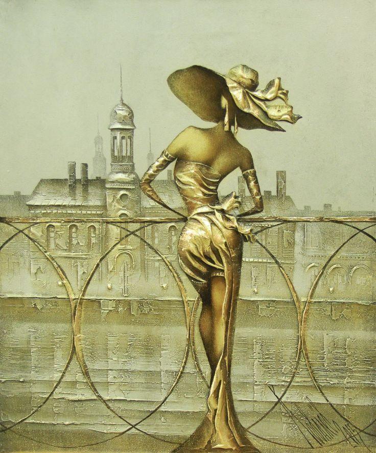 🎨 Refined St. Petersburg of artist Sergey Kovalev. #StPetersburg #Art #StPetersburgArt #pictures #artists #painting