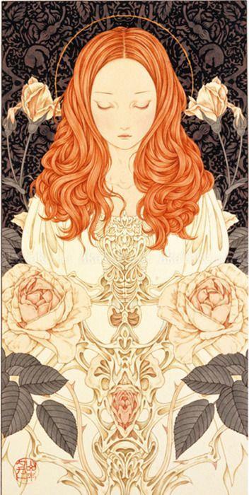 ginger lady