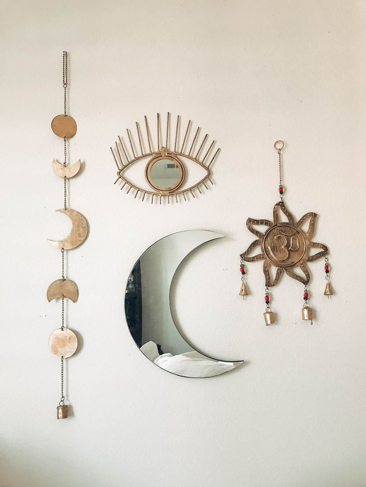 Room Inspo❤️ OM Wall Hanging, Moon Phase Decor, All Seeing Eye   Save 25% off all orders with code PINTERESTXO at checkout   Boho Bedroom Moon Phase Bohemian Zodiac Tapestry  Shop Now LadyScorpio101.com   @LadyScorpio101  