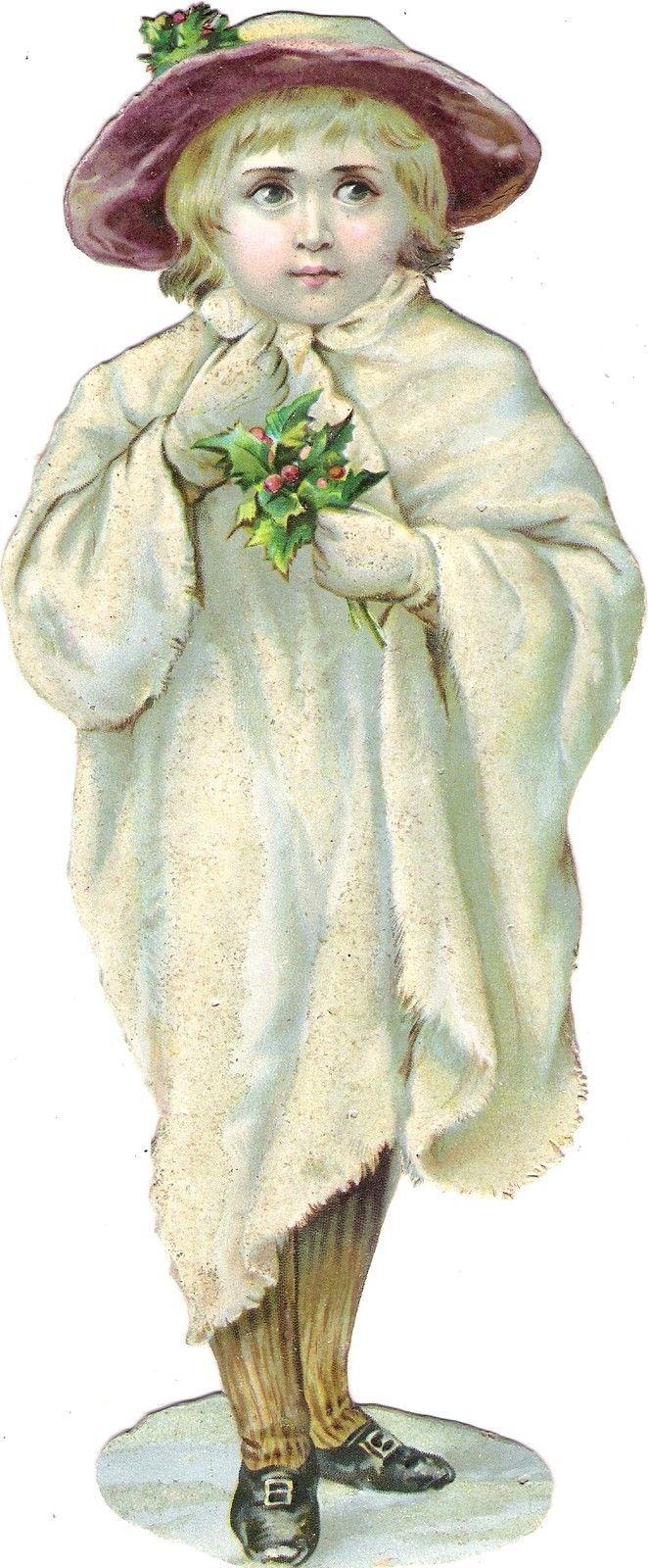 Oblaten Glanzbild scrap die cut chromo Winter Kind  23cm child Schnee snow MICA in Sammeln & Seltenes, Büro, Papier & Schreiben, Papier & Dokumente, Oblaten & Glanzbilder, Vor 1960 | eBay: