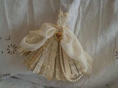 Assemblage Art miniature ballet dress by MesssieJessie
